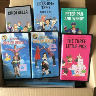 子供向け 英語学習ビデオテープ(VHS) 全26巻 その他教材付き