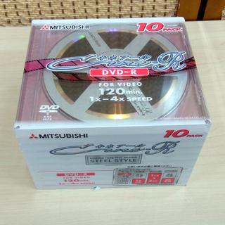 南12条店 新品 ミツビシ DVD-R 120分 4倍速 10枚組