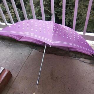 レディース雨傘 桃色