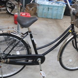 26インチ ブラック ママチャリ 安い自転車