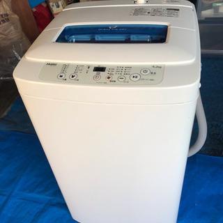 ☆美品☆ ハイアール 4.2Kg全自動洗濯機 JW-K42M-W...