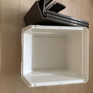 収納ボックス フロック 30 深型 ブラウン