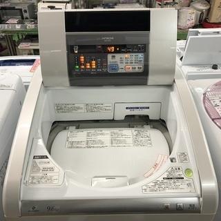 美品【 HITACHI 】日立 ビートウォッシュ 洗濯9.0㎏/乾燥6.0㎏ 洗濯乾燥機 エコビート洗浄 自動おそうじ搭載 BW-D9PV - 熊谷市