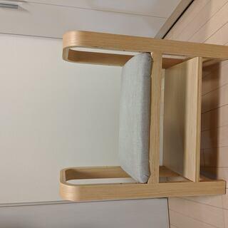 【中古】アイリスオーヤマ 玄関椅子  GC-55 ナチュラル