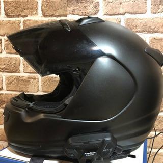 アライヘルメット インカム付き マッドブラック