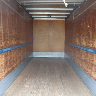 トラックコンテナ 箱 2tロング シャッター 4560x1880x2420 アルミバン 冷凍冷蔵 倉庫 物置 ガレージ 愛媛より - 売ります・あげます