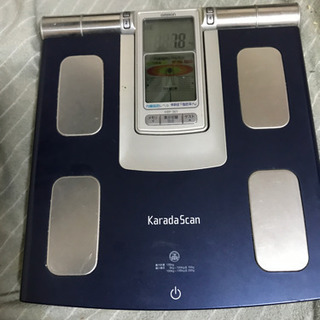 オムロンの体重計です。お取引き中