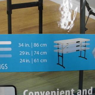 コストコ折り畳み式テーブル(屋外・屋内対応) 折りたたみテーブル テーブル 幅:1224cm 苫小牧西店 - 苫小牧市