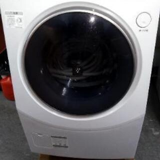 横浜発⭐ドラム式洗濯機 乾燥機 10キロ プラズマクラスター