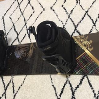 スノーボード、板+ビンディング+ブーツ、BURTONケース