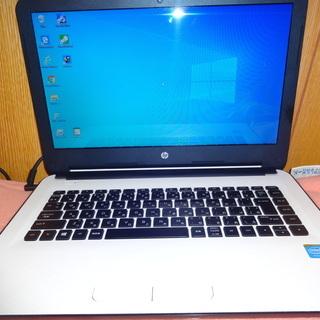 14型ノートパソコン 極美品 HP製