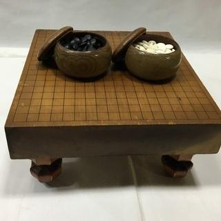囲碁 碁盤 碁石セット ①