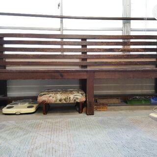 [値引き交渉可]教会で使われていたベンチ