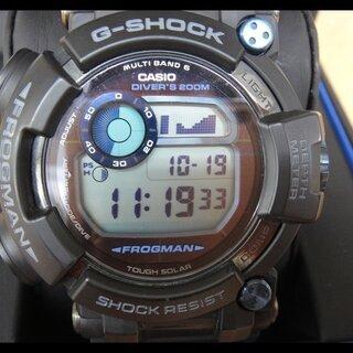 美品 カシオ G-SHOCK フロッグマン GWF-D1000B...