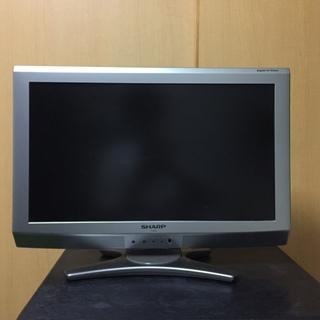 SHARP20型液晶TV 2009年式