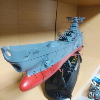 宇宙戦艦ヤマトプラモデルの画像