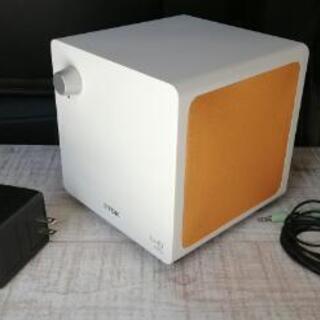 tdk xa-40 キューブ型2.1chスピーカー - 売ります・あげます