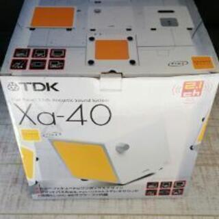 tdk xa-40 キューブ型2.1chスピーカー