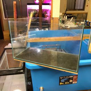 オールガラス水槽&専用台 引取り限定