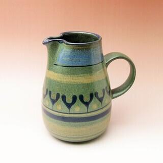 Germany KMK 陶器のピッチャー 花瓶 ドイツ レトロ・...