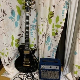 エレキギターとアンプ