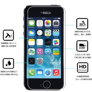 iphone 5/5C/5S/SE 専用液晶強化保護ガラスフィルム