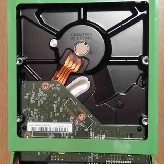 中古 3.5インチ マウンター付き500GBHDD