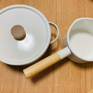 【値下げしました】 Kaico 両手鍋&片手鍋
