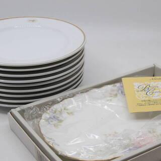 ノリタケ 金縁 皿 ケーキ皿 8枚 + 絵皿 未使用品