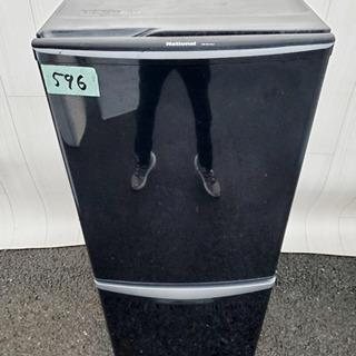 596番 National✨ノンフロン冷凍冷蔵庫❄️NR-B14...