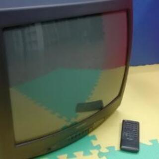 シャープ ブラウン管テレビ 20インチ