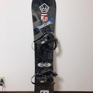 スノーボード 板 ビンディング セット