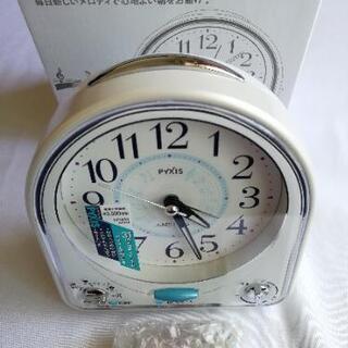 新品 SEIKO 目覚まし時計