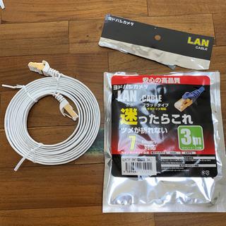 LANケーブル CAT7 3m ホワイト