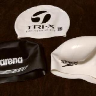 SPEEDO arena ドーム型シリコンキャップ セット 1回...