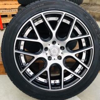 【美品】EagleEXE タイヤ ホイール 4本セット  ロクサ...