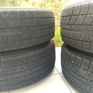 195/65R15 ブリジストン VRX 114.3 タイヤホイール 4本セット - 売ります・あげます