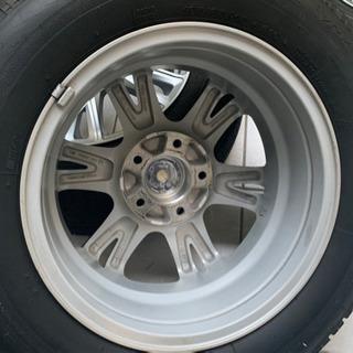 195/65R15 ブリジストン VRX 114.3 タイヤホイール 4本セット - 車のパーツ