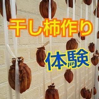 ⭐️今が干すチャンス❗️干し柿作り体験⭐️