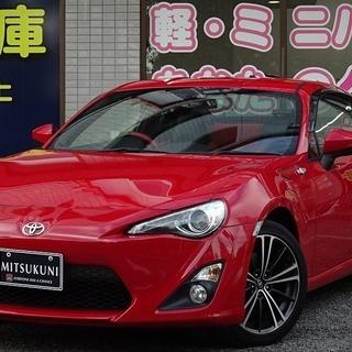 トヨタ 86 GT リミテッド レッド 目玉です! ミツクニ自社...