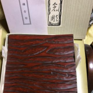 鎌倉彫り 菓子皿(?) 20cm