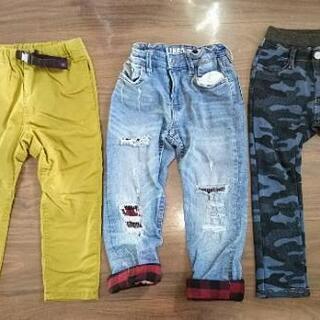 あったか素材パンツ キッズサイズ110