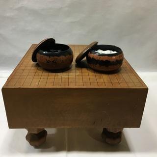囲碁 碁盤 碁石セット④