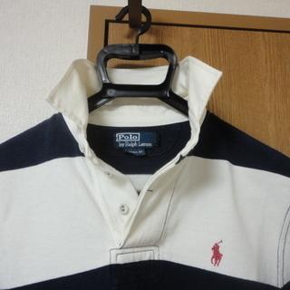 POLO RALPH LAUREN ラガーシャツ ワンポイント ボーダー長袖シャツ 323749979 メンズ - 神戸市