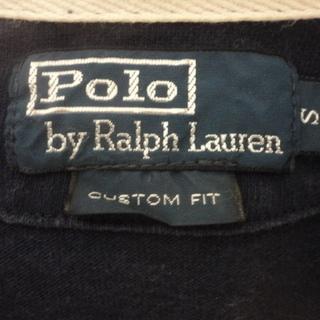 POLO RALPH LAUREN ラガーシャツ ワンポイント ボーダー長袖シャツ 323749979 メンズ − 兵庫県