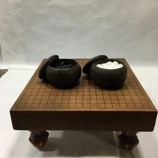 囲碁 碁盤 碁石セット②