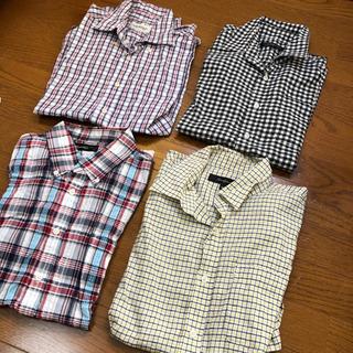 [取引中]半袖!綿のチェックシャツ