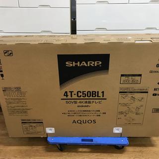 シャープ アクオス 50V型 4K液晶テレビ  4T-C50BL...