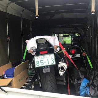 バイクや家具の輸送格安♫  営業ナンバー軽トラックで全国配送致し...