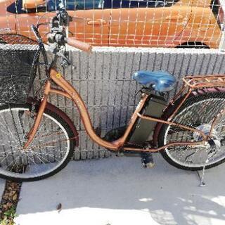 自転車(ジャンク品)電動自転車